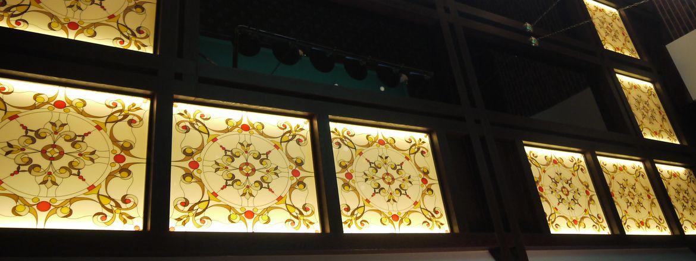 Стекло в Туле. Витражи на стекле на заказ от Строй-Прогресс